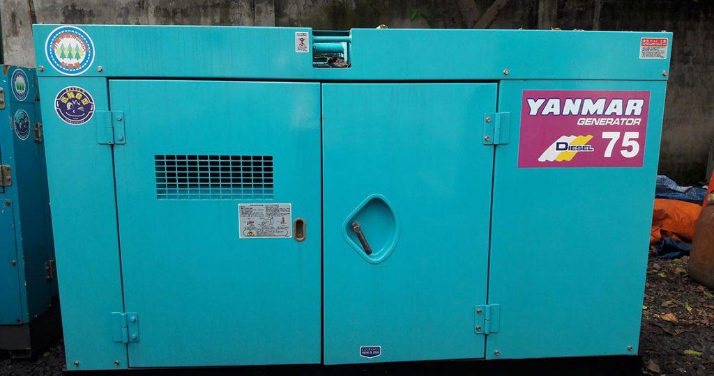 Máy phát điện yanmar 75kva 60kw