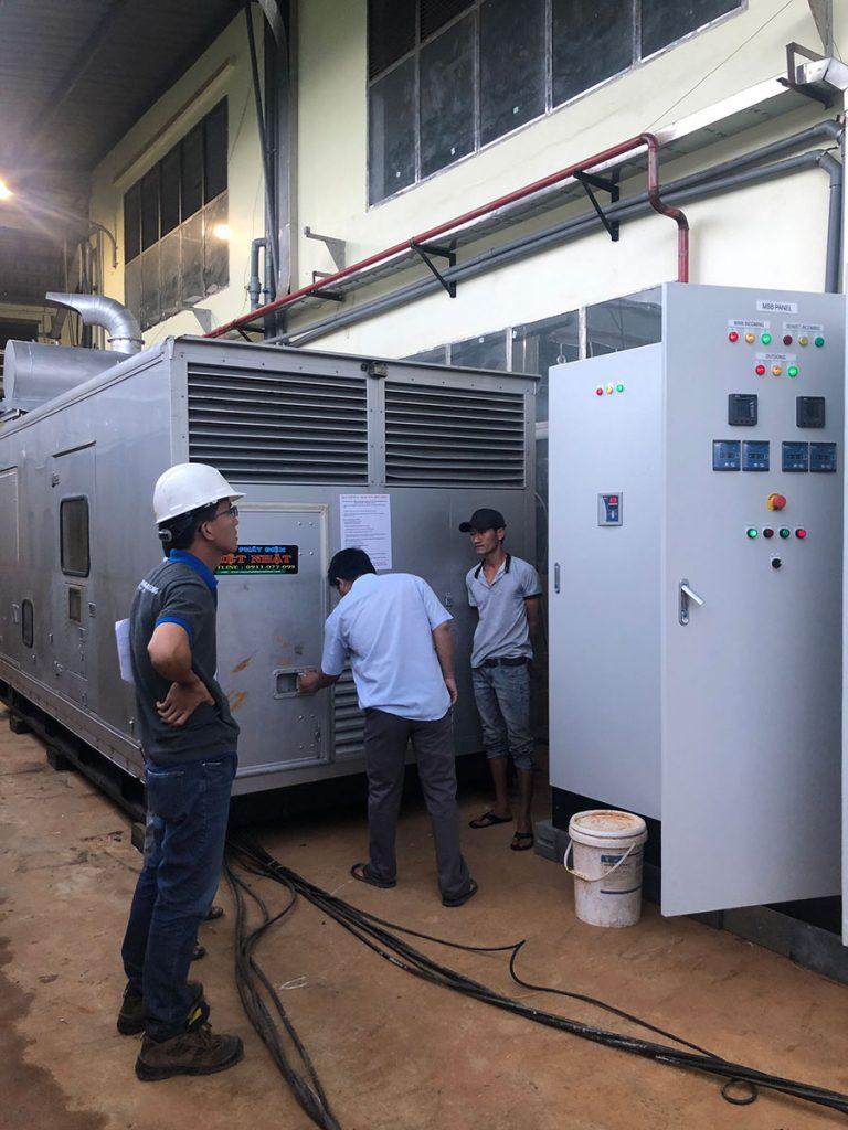 Bảo trì bảo dưỡng máy phát điện