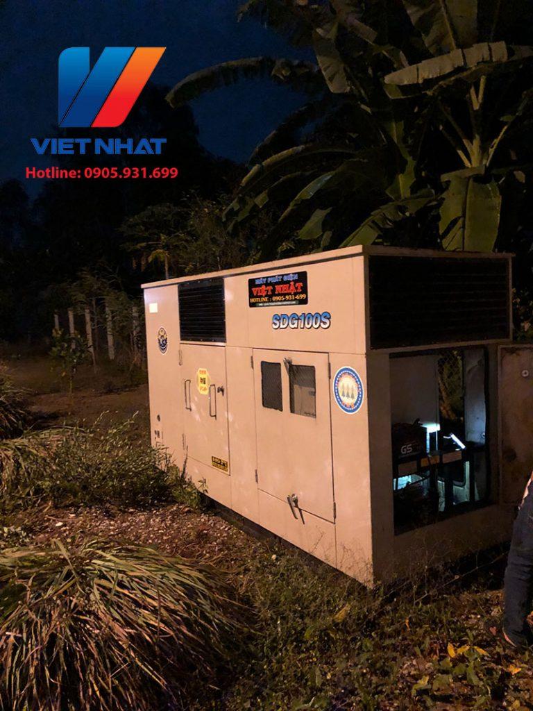 Cho thuê máy phát điện TPHCM