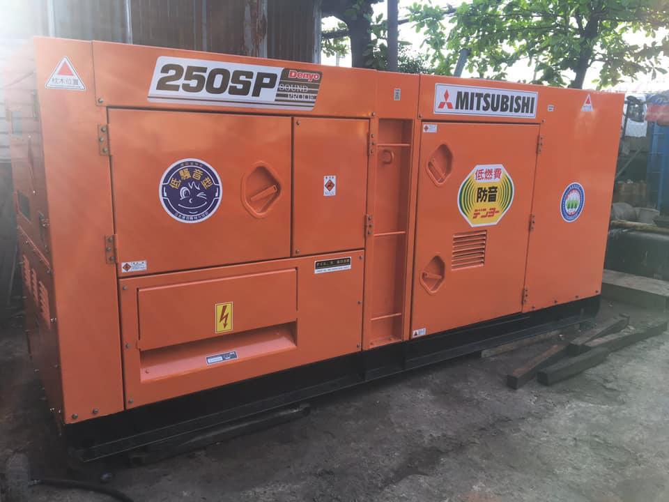 Máy phát điện 250kva Việt Nhật Power