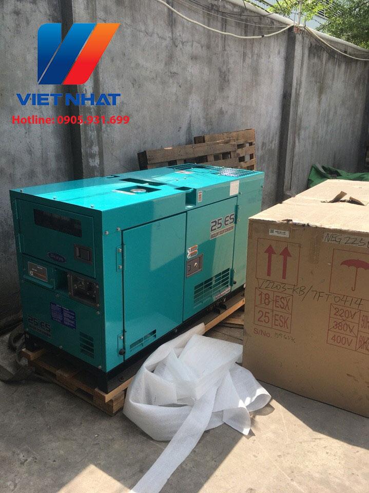 Máy phát điện 25kva Việt Nhật Power