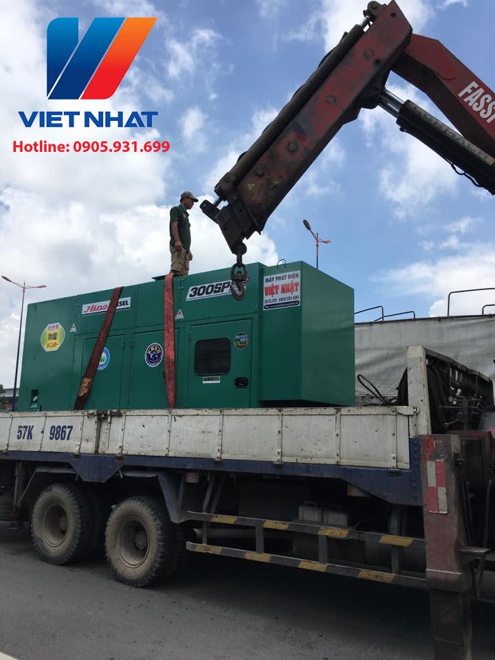 Máy phát điện 300kva Việt Nhật Power