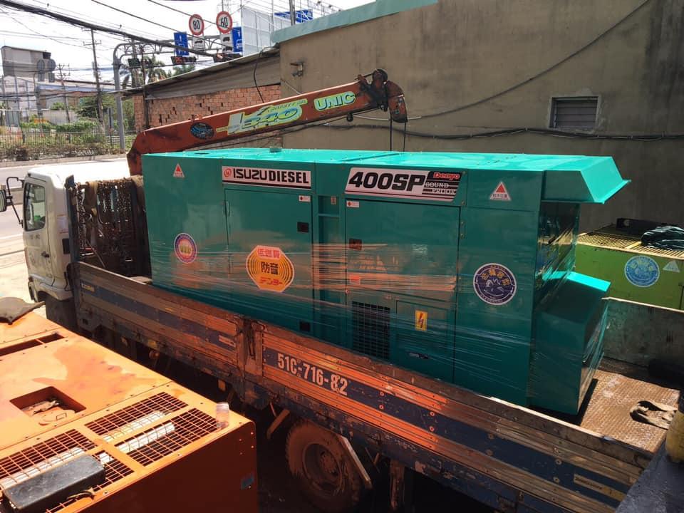 Máy phát điện 400kva Việt Nhật Power