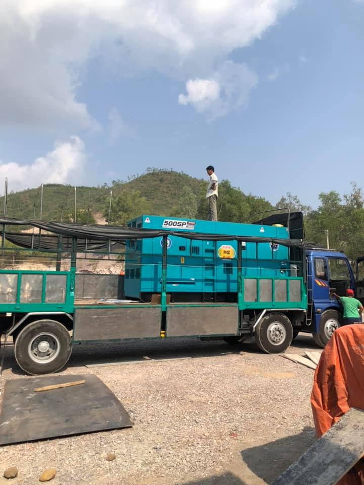 Máy phát điện 500kva Việt Nhật Power