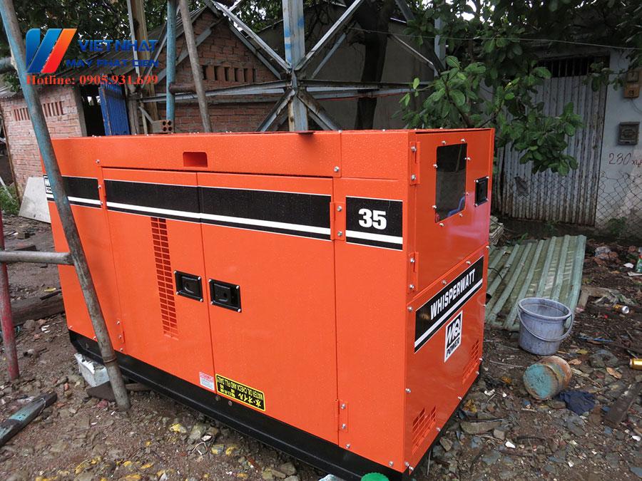 Máy phát điện isuzu 35kva