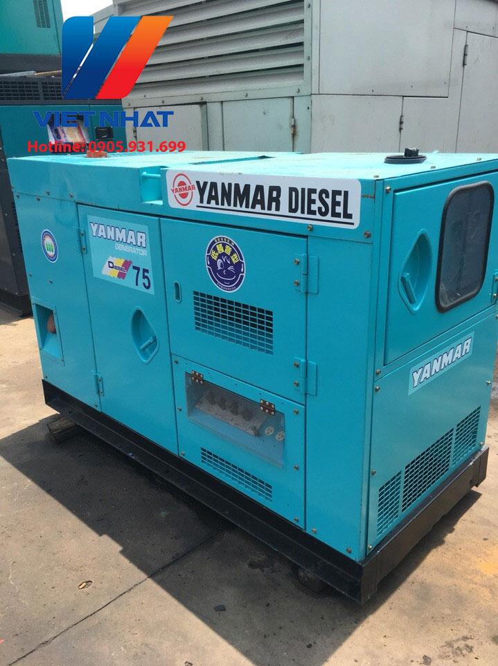 Máy phát điện Yanmar 75kva (60kw)