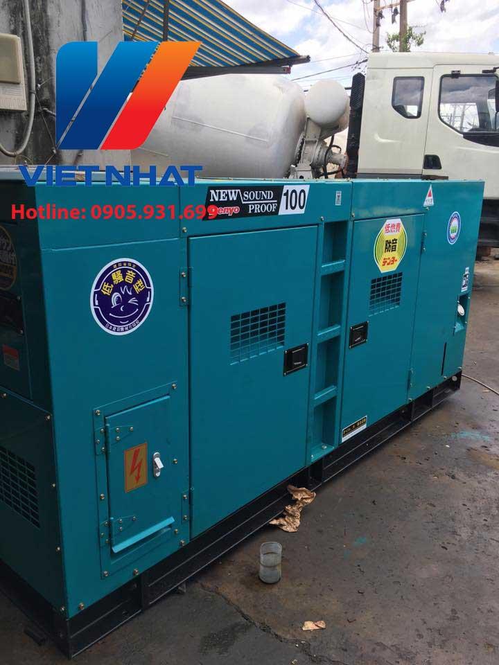 Máy phát điện Denyo 100kva (80kw)