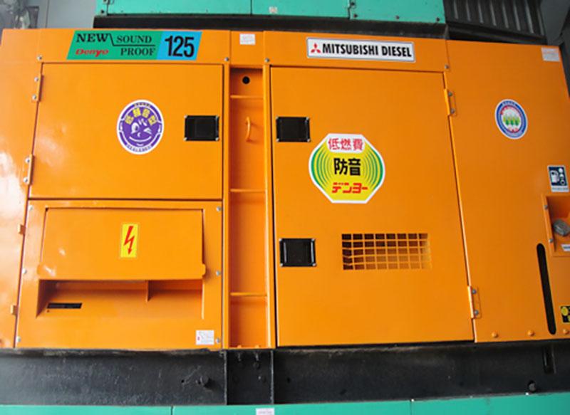 Máy phát điện Mitsubishi 125kva (100kw)