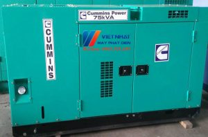 Máy phát điện Cummins 75kva (60kw)