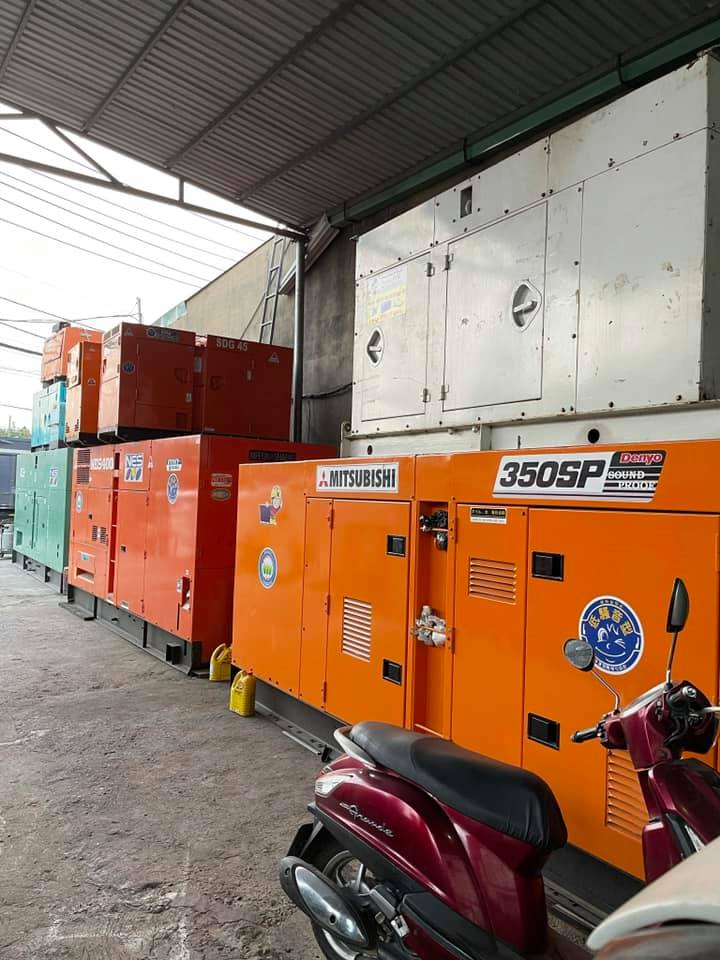 Máy phát điện mitsubishi 350kva (280kw)